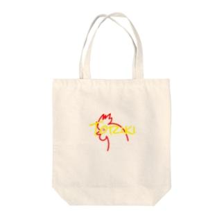 """非公式""""鳥貴族"""" Tote bags"""