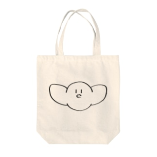 ⌒(ё)⌒(影なし) Tote bags