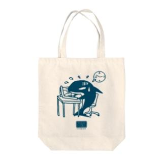 社畜のシャチくん Tote bags