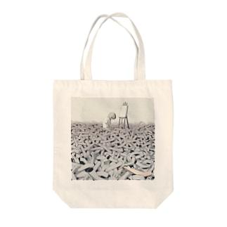 スランプ Tote bags