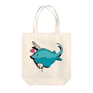 エイさんうつぼさん Tote bags