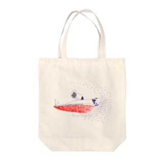 ボートレース Tote bags