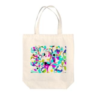 色彩のかけらサマータイム Tote Bag