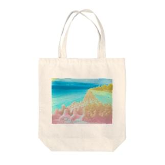 異界の海 Tote bags