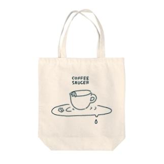 COFFEE SAUCER トートバッグ