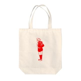 チャクシンナシ Tote bags