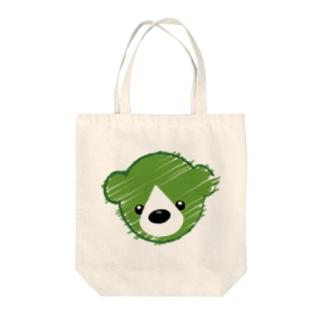 くまさんロゴマーク Tote bags