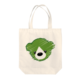ロゴラボのくまさんロゴマーク Tote bags