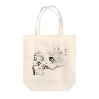 季節 Tote bags