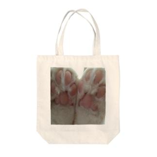 にくきゅう Tote bags