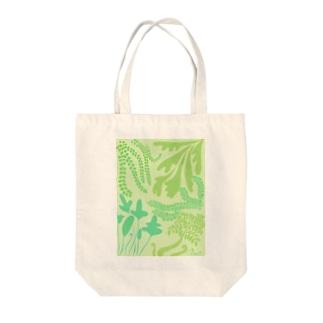 シダマミレ Tote bags