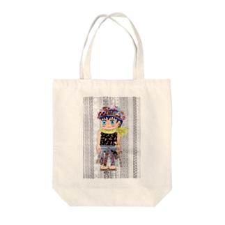 ダン王子 Tote bags