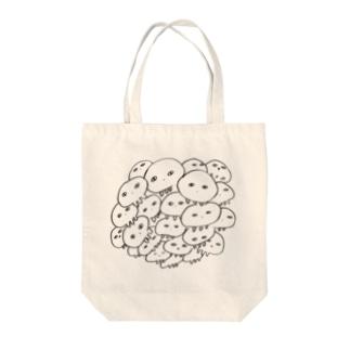 くらげスフィア Tote bags