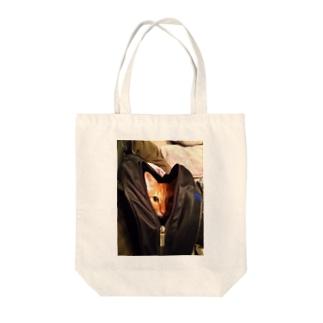 バッグインアルク営業部長 Tote bags