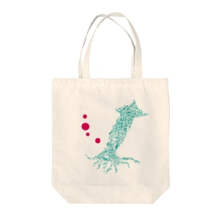 Squid of sigh  Tote bags