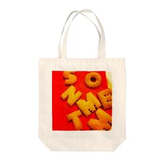 ビスケット Tote bags