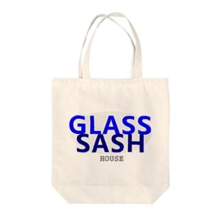 GLASS&SASH Tote bags