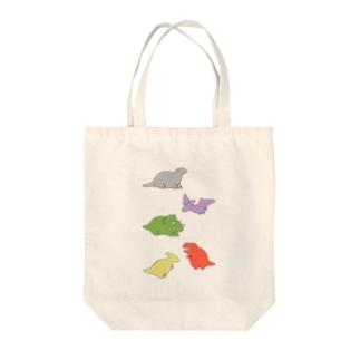 さうるす集合(カラー) Tote bags