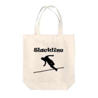 スラックライン(Slackline) Tote bags