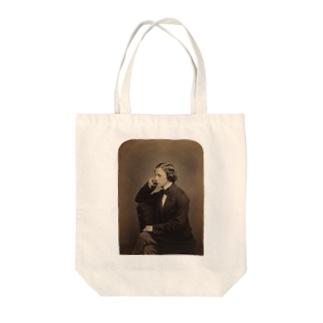 ルイス・キャロル Tote bags