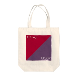 Erlang and Elixir Tote bags