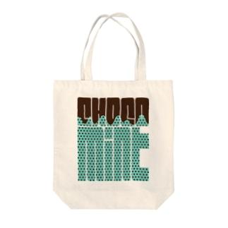 CHOCO MINT Tote bags