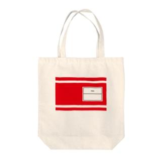 体操服風レッド Tote bags