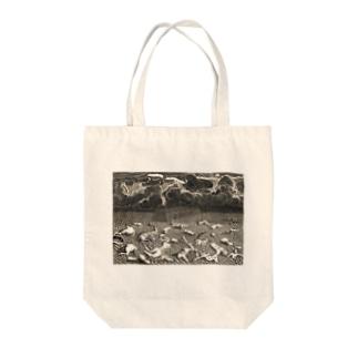 旧約聖書「創世記」の大洪水 - Getty Search Gateway Tote bags