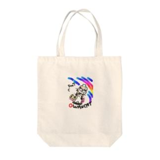OWANCATのキャラクター Tote bags