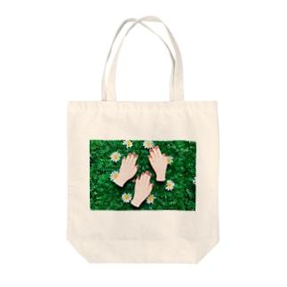 お嫁にいきます Tote bags