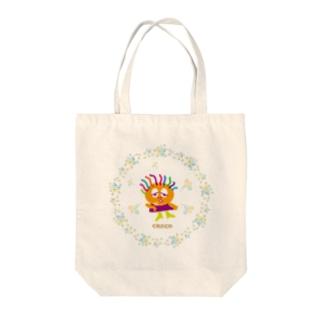 ヤバかった〜のクレコちゃん Tote bags