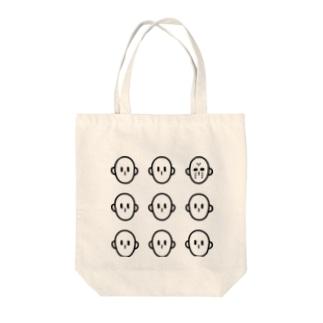 隠れジェイソン Tote bags