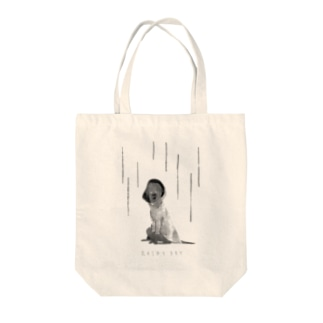 RAINY DAT - BW Tote bags