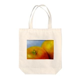 晩白柚 Tote bags