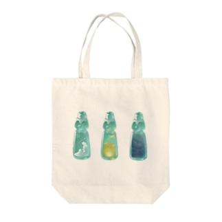 スカイラムネ Tote bags