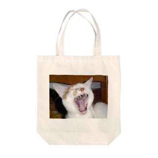 だぁーっ!!! Tote bags