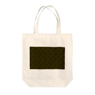 小動物lovesFIATのFIAT_PANDAモノグラム【LightBrown】 Tote bags