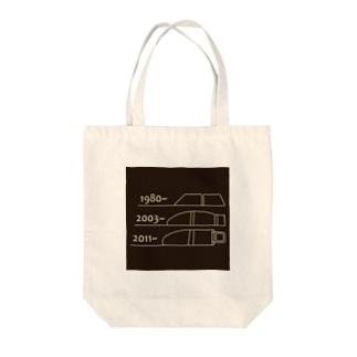 FIAT_PANDA窓枠【Reverse】 Tote bags