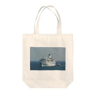 パシフイックビーナス Tote bags