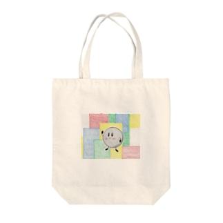 手描きメタルくん Tote bags