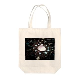 光 - 白 Tote bags