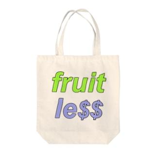 fruitless Tote bags