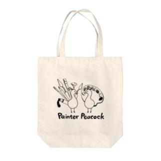 PainterPeacock Tote bags
