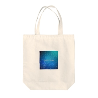 Stardust Paradise by Little Mom Tote bags