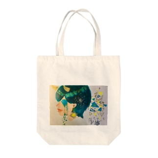泣いた青鬼 Tote bags