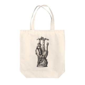 ファティマと呼ばれる青銅の手 - Getty Search Gateway Tote bags
