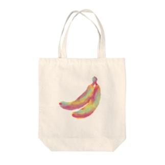 すっぽんぽんの虐待バナナ Tote bags