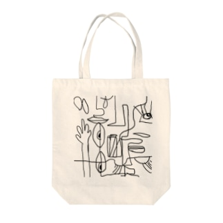 グラフィックart Tote bags