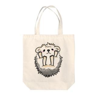 ハリネズミ(ばんざい) Tote bags
