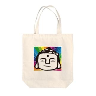 大仏2.0 Tote bags